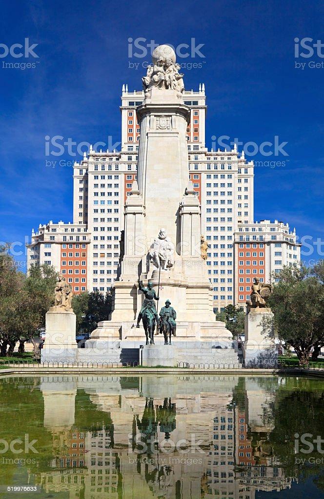 Plaza de Espana stock photo