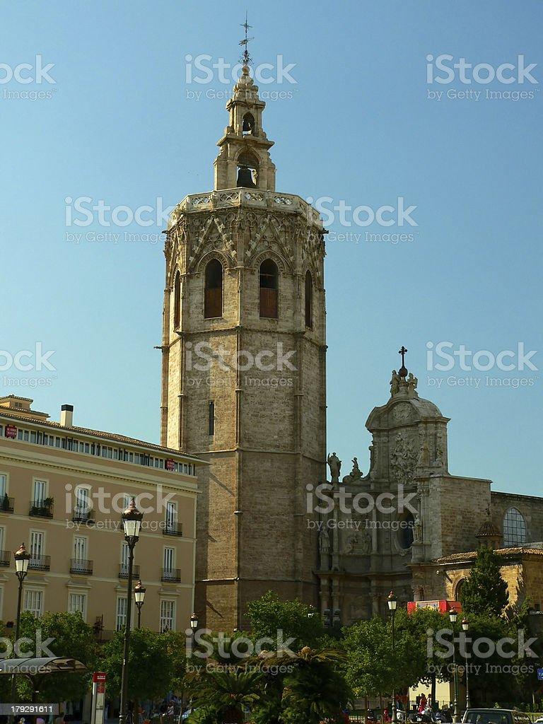 Plaza de la Reina stock photo