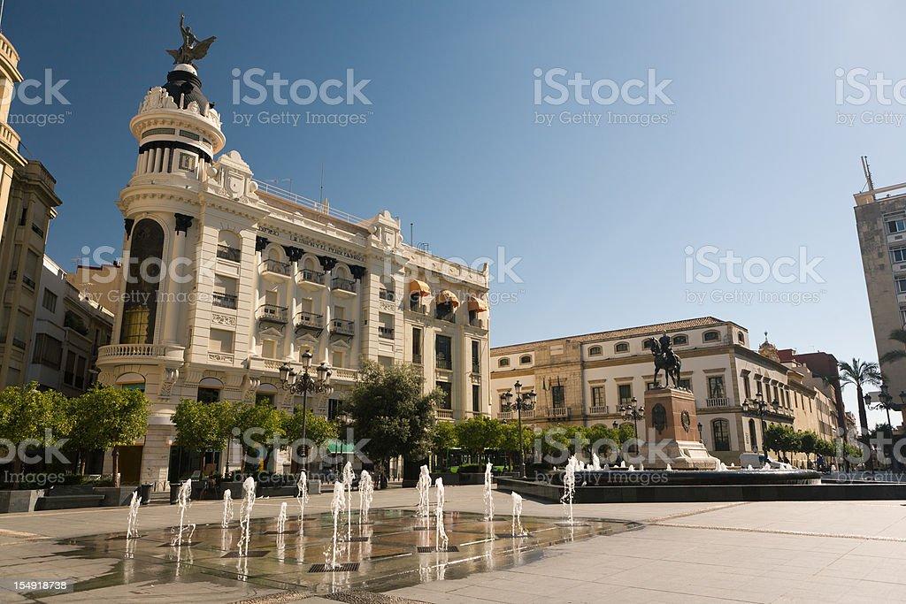 Plaza de la Tendillas in Cordoba royalty-free stock photo