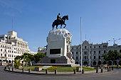 Plaza de San Martin - Lima - Peru