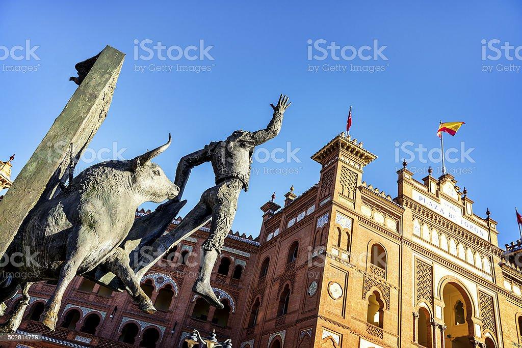 Plaza de Toros de Las Ventas in Madrid stock photo