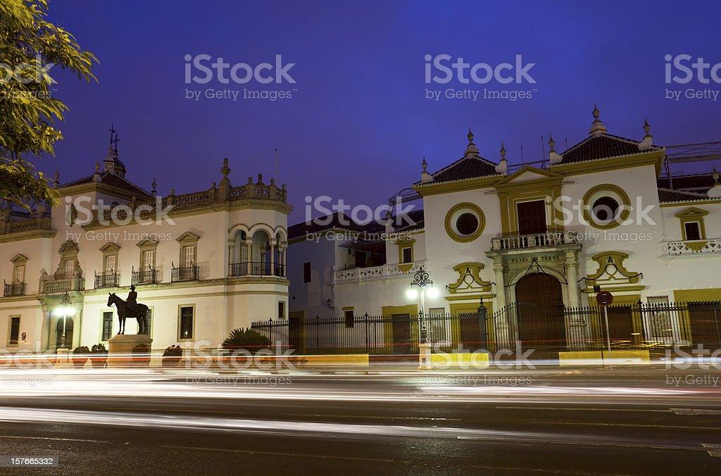 Plaza de Toros in Sevilla royalty-free stock photo