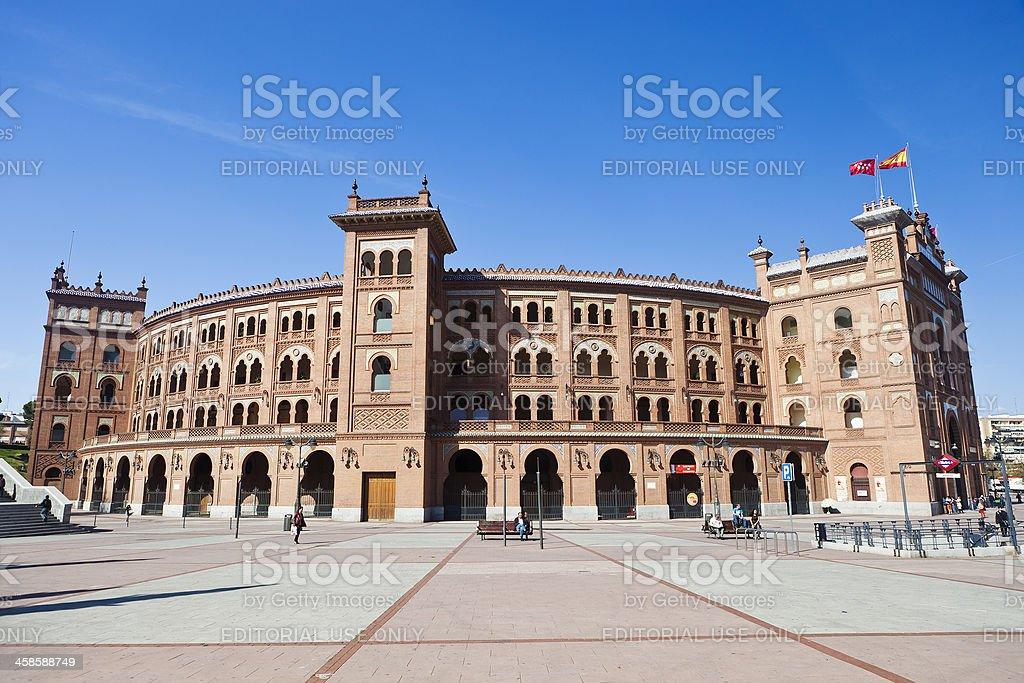 Plaza De Toros Las Ventas In Madrid, Spain stock photo