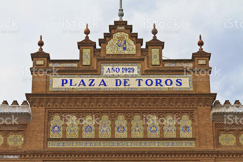 Plaza de Toros Las Ventas, Madrid, Spain stock photo