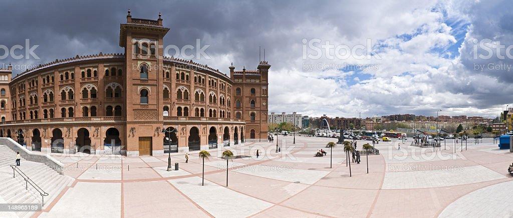 Plaza de Toros Madrid stock photo