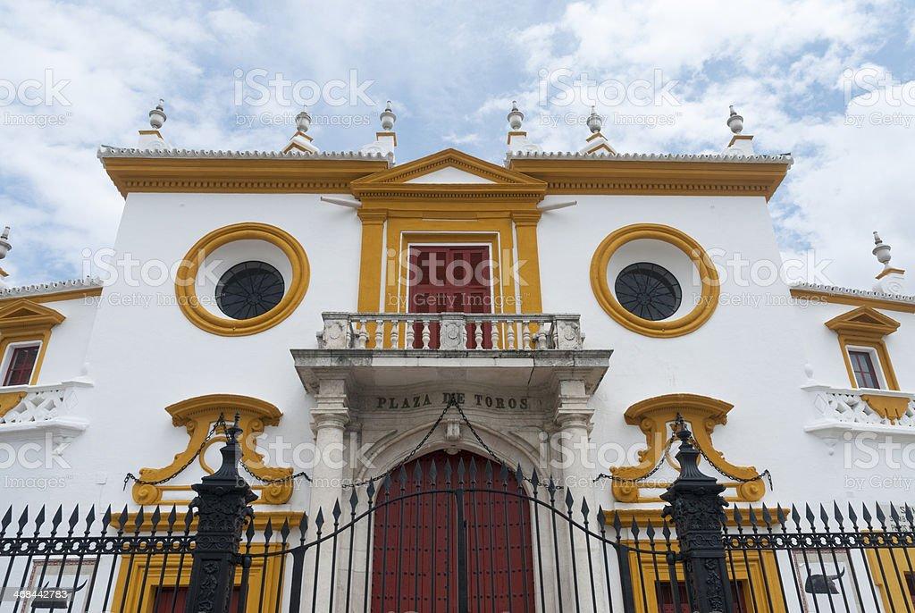 Plaza de Toros, Sevilla royalty-free stock photo