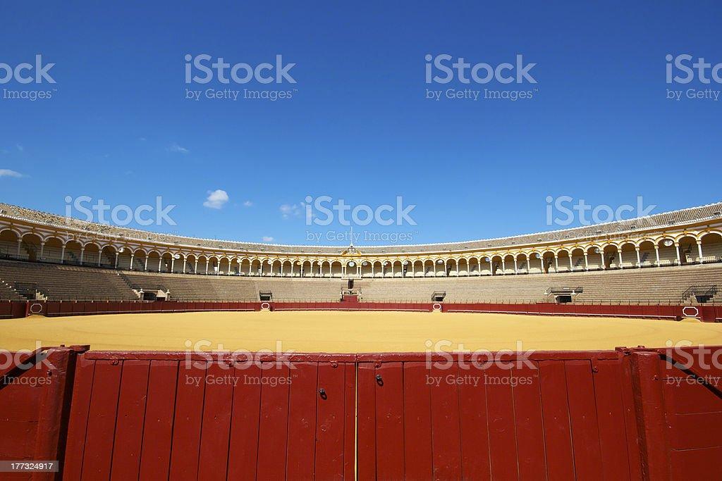 Plaza de Toros, Seville, Spain royalty-free stock photo