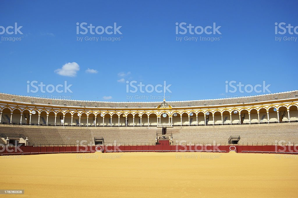 Plaza de Toros, Seville, Spain stock photo