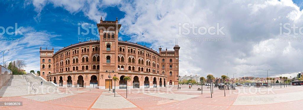 Plaza del Toro de las Ventas Madrid stock photo