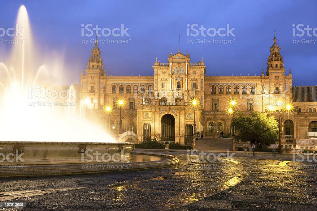 Plaza Espana royalty-free stock photo