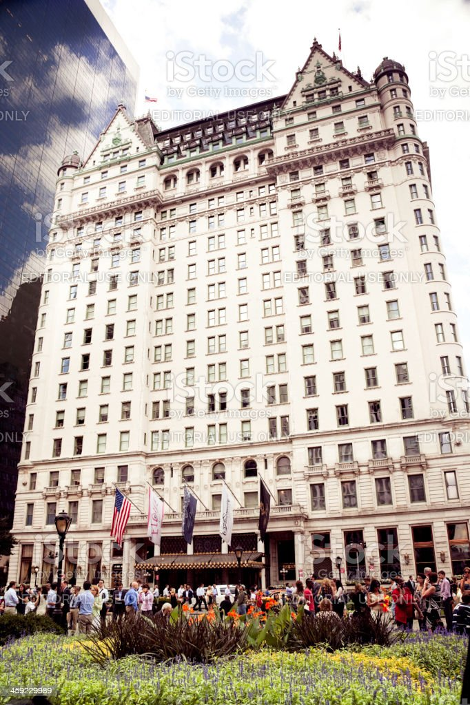 Plaza Hotel in New York stock photo