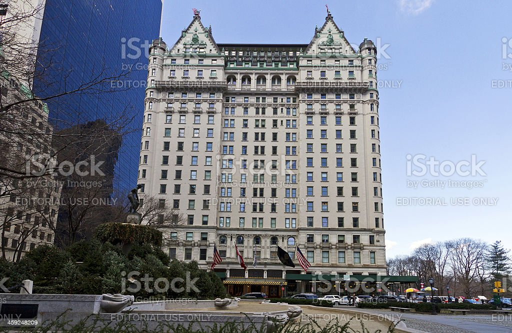 Plaza Hotel New York City stock photo