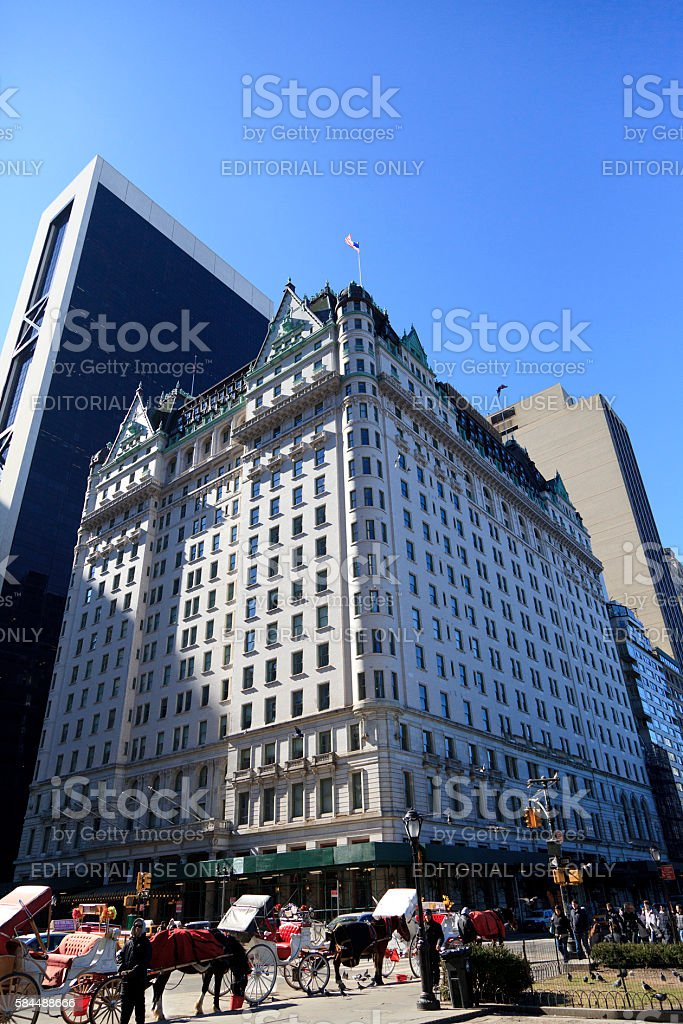 Plaza Hotel stock photo