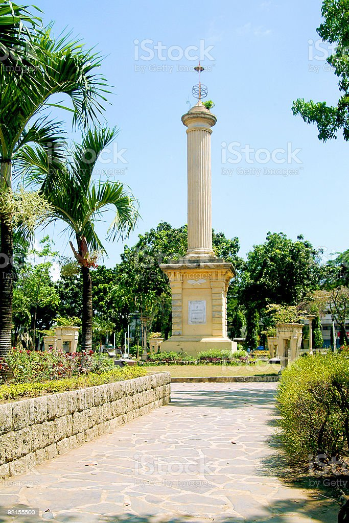 Plaza Independencia (Parks and Recreation) royalty-free stock photo