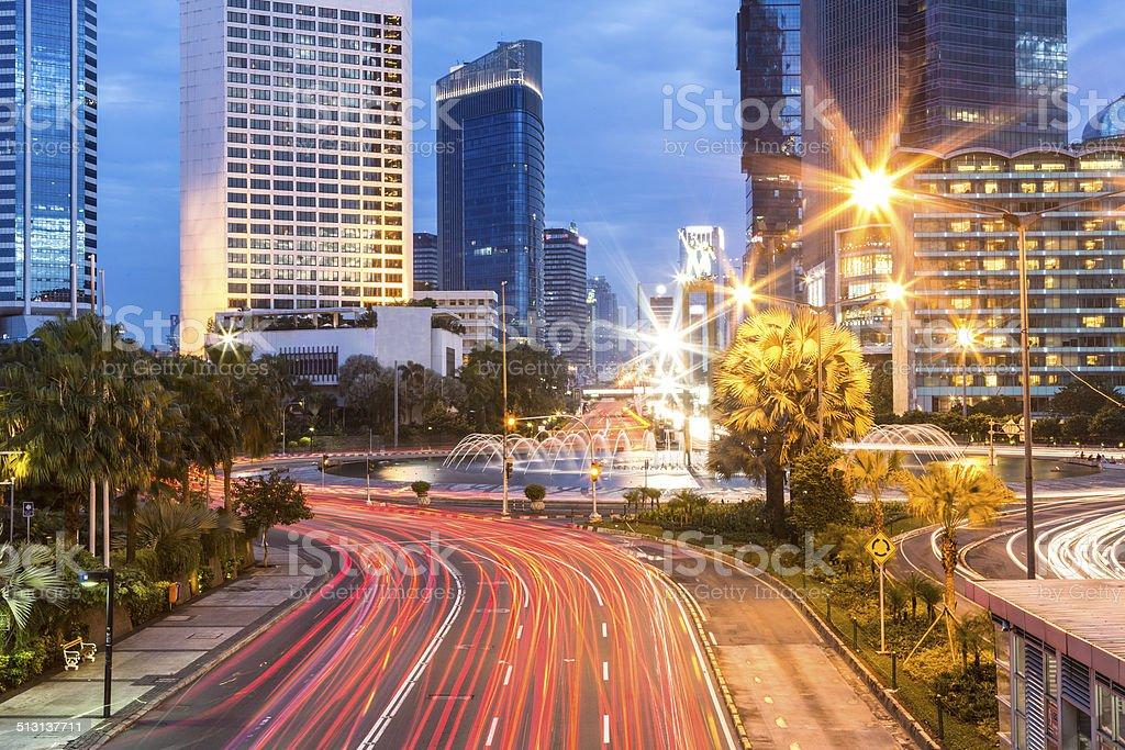 Plaza Indonesia in Jakarta stock photo