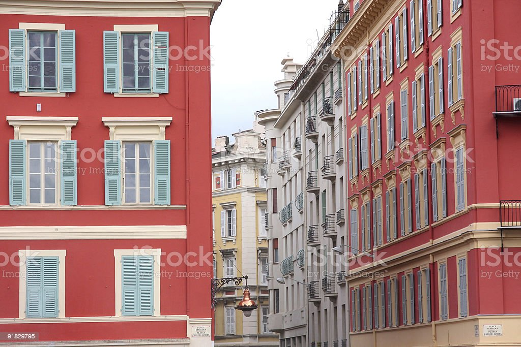 plaza Massena in Nice, France royalty-free stock photo