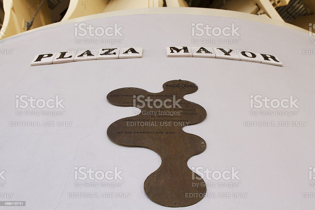 Plaza Mayor stock photo