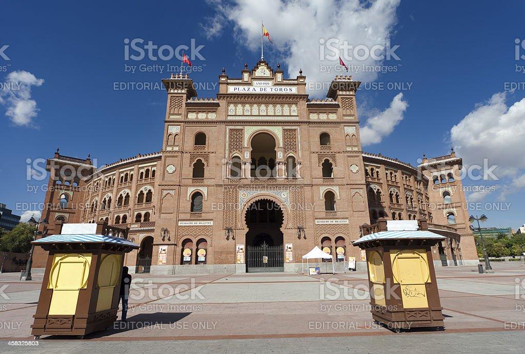 Plaza Toros de Las Ventas stock photo