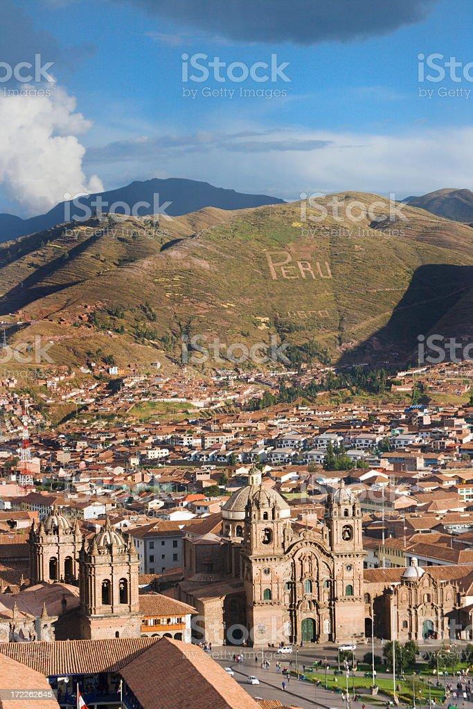 Plaza-de-Amas, Cuzco, Peru Vt stock photo