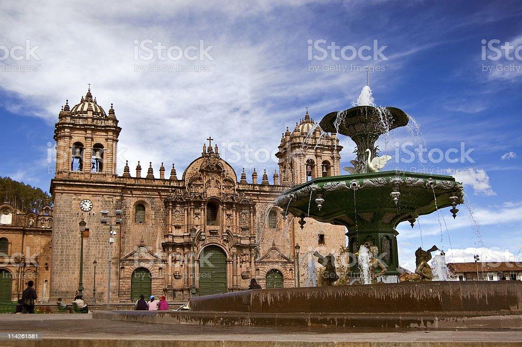 Plaza-de-Armas, Cuzco, Peru stock photo