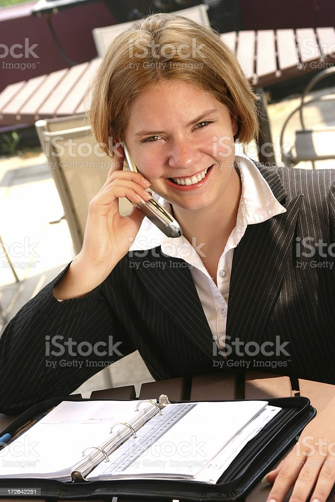 Pleasant Business royalty-free stock photo