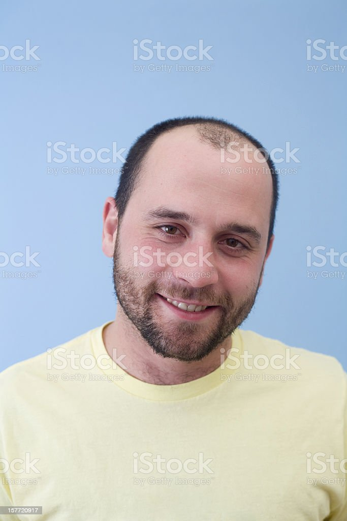 pleasant man royalty-free stock photo