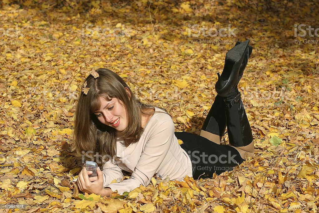 Pleasant message royalty-free stock photo