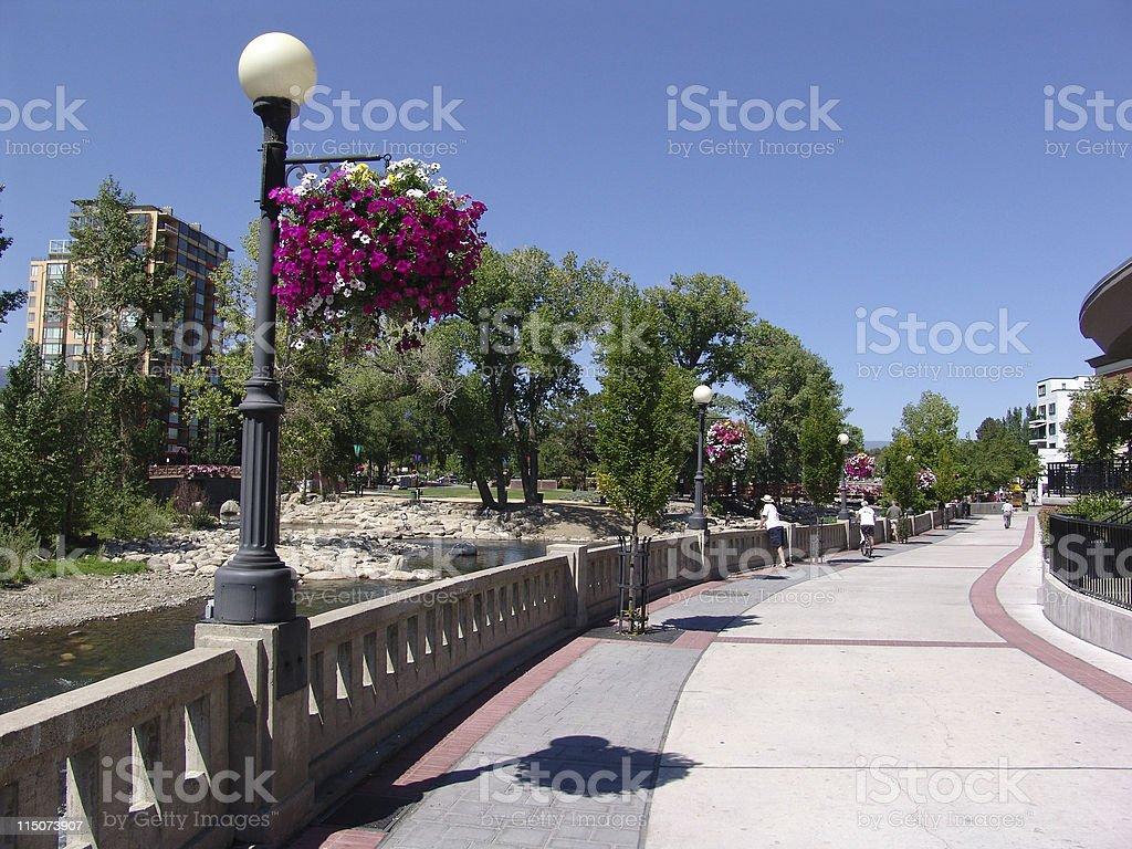 Pleasant Reno stock photo