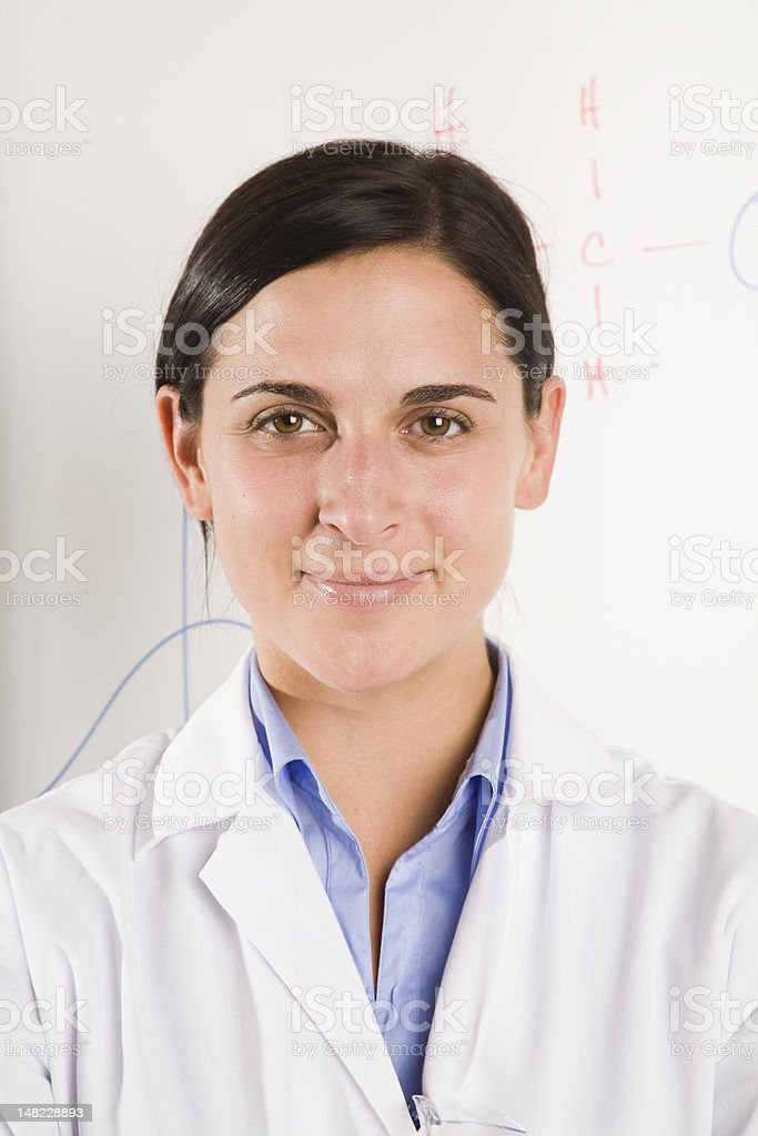 Pleasant Science royalty-free stock photo