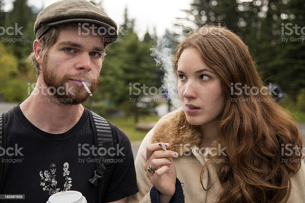 Please don't smoke stock photo