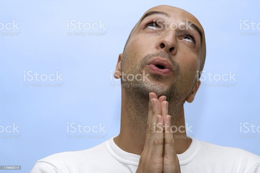 Please god... royalty-free stock photo