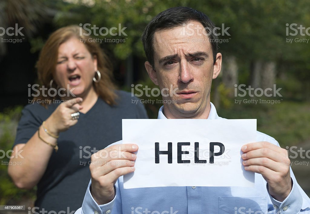 Please help stock photo