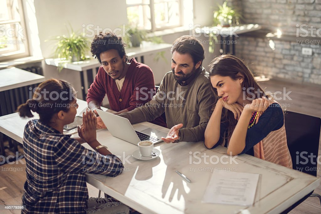 Please hire me, I would like to get this job! stock photo