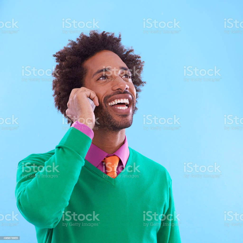 Please hold for awesome! royalty-free stock photo