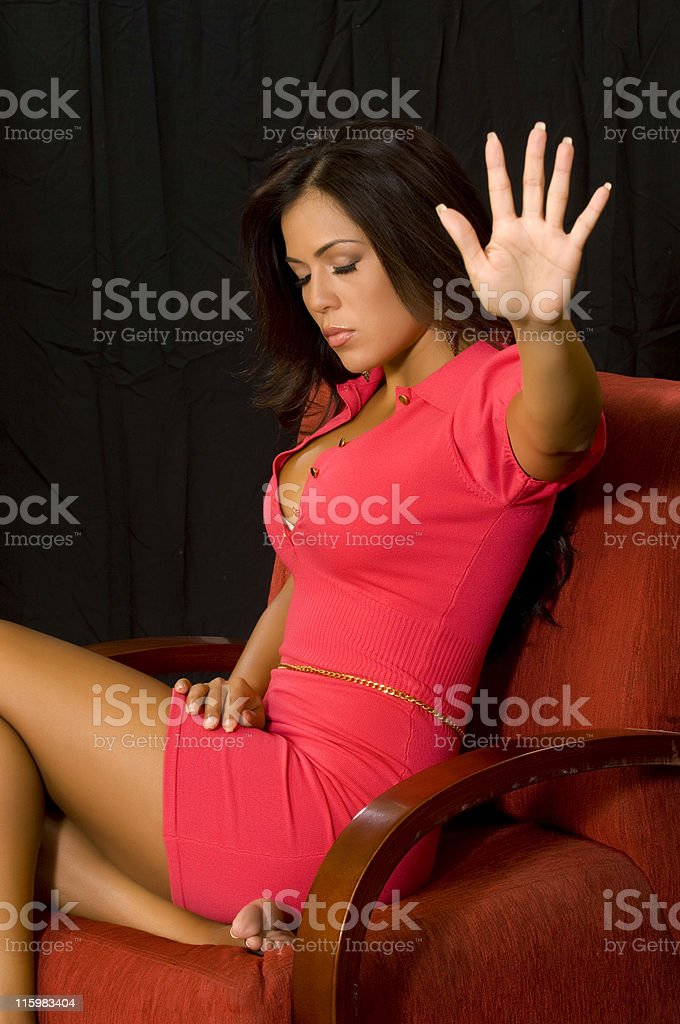 Please leave me alone royalty-free stock photo