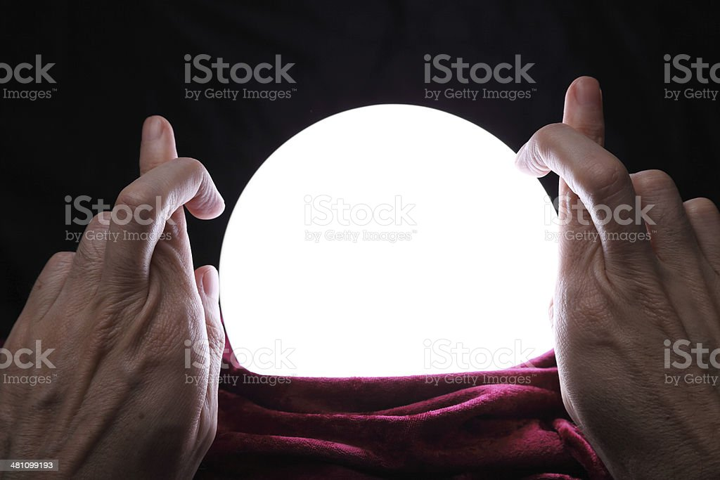 Please, let it be something good! stock photo