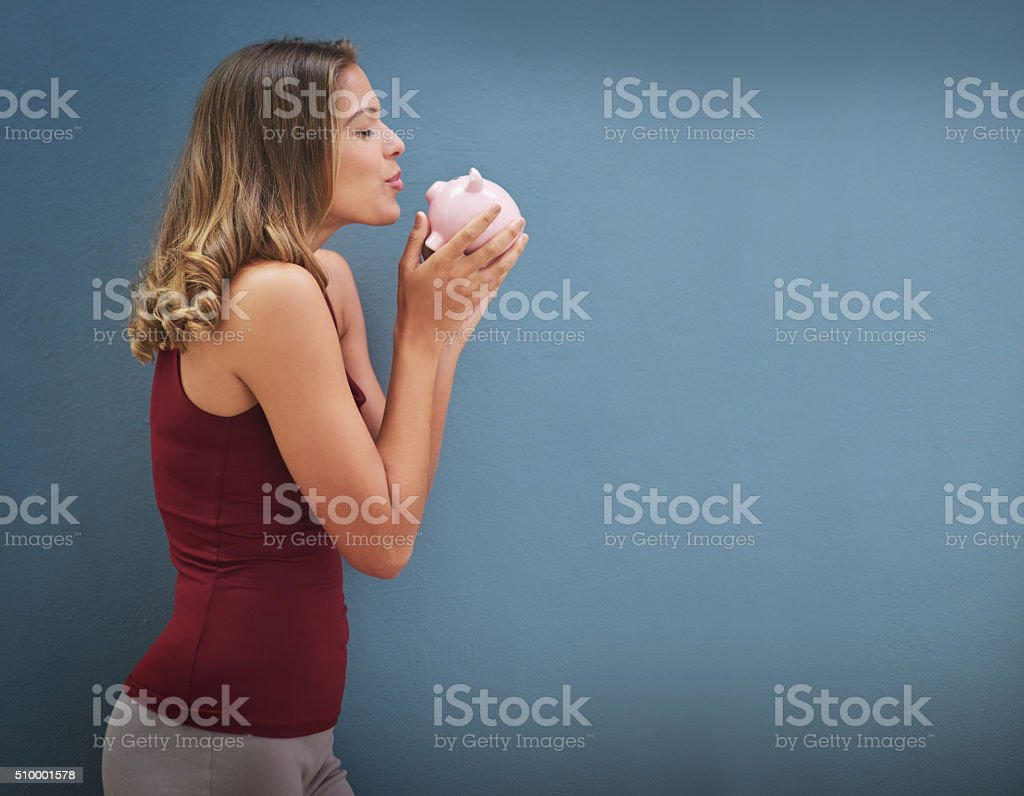 Please let there be money in here... stock photo