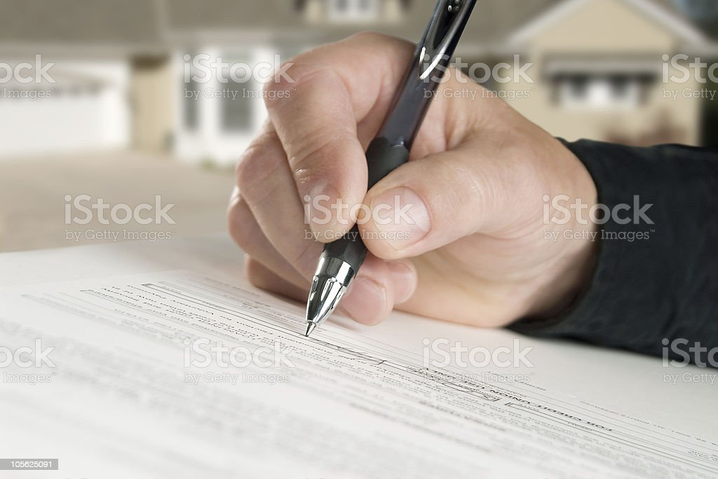 please sign here stock photo