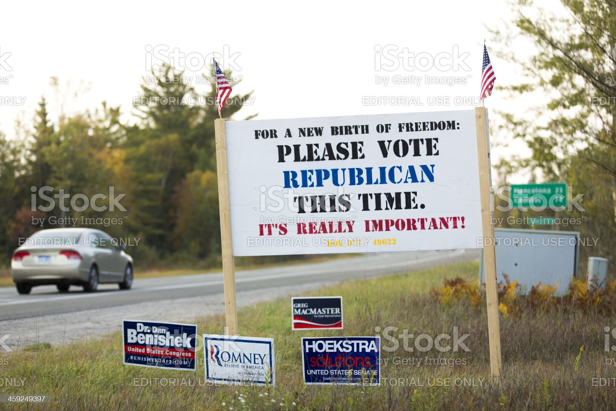 please vote republican this time royalty-free stock photo