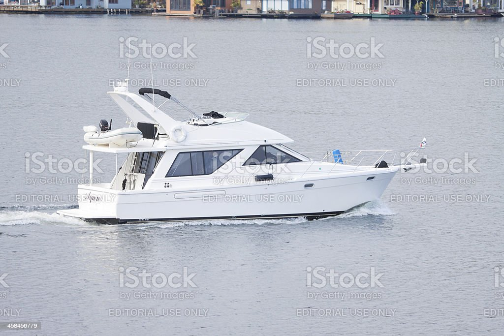 Pleasure Boat stock photo