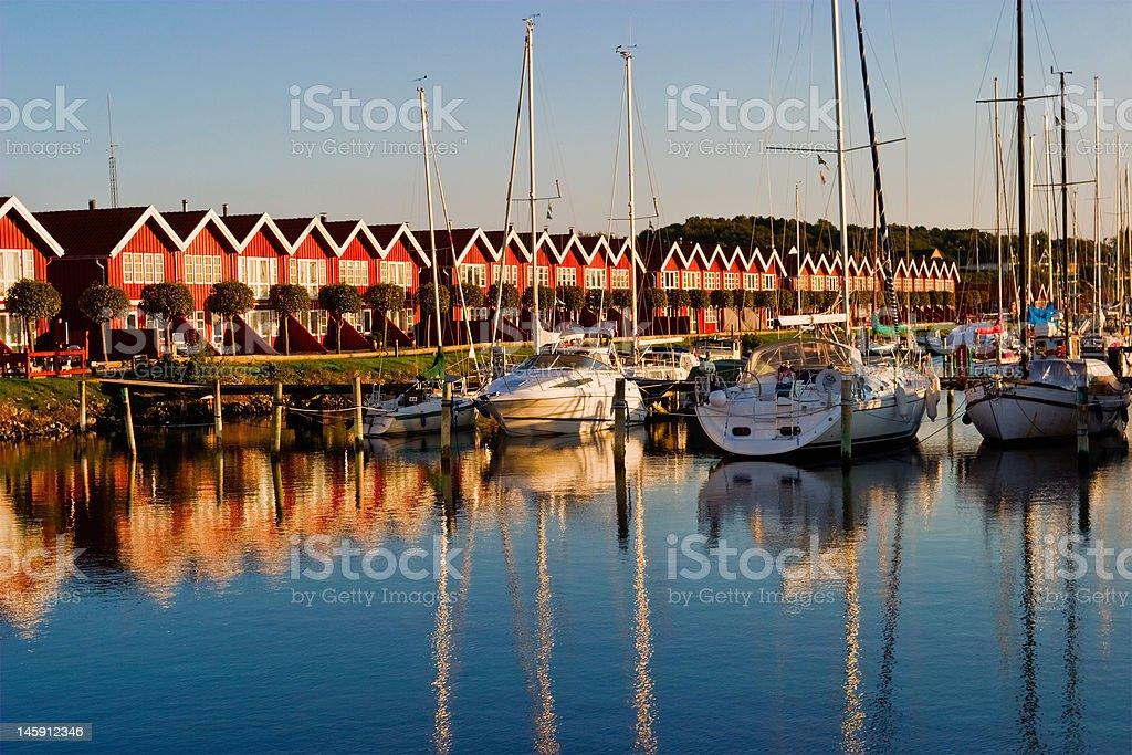 Pleasure boats royalty-free stock photo