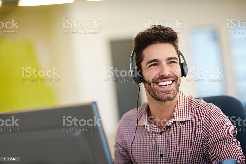 Pleasure in the job puts perfection in the work stock photo