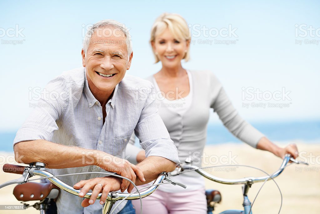 Pleasure of a Sunday ride royalty-free stock photo