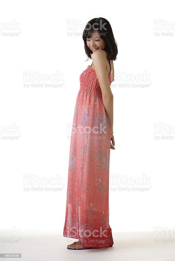 Pleasure woman royalty-free stock photo