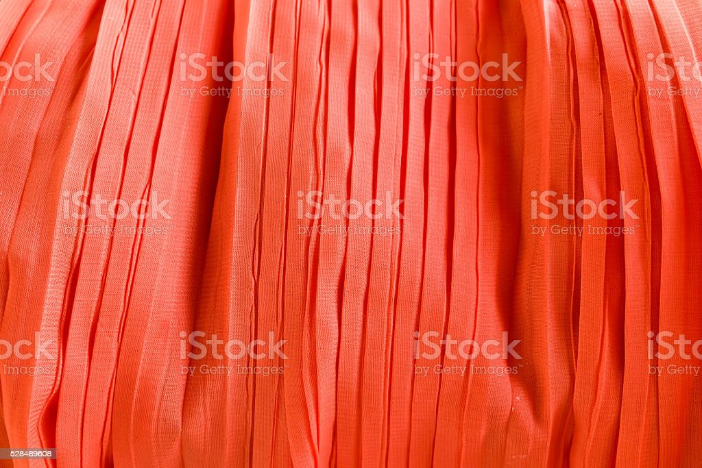 Pleated fabric texture background stock photo