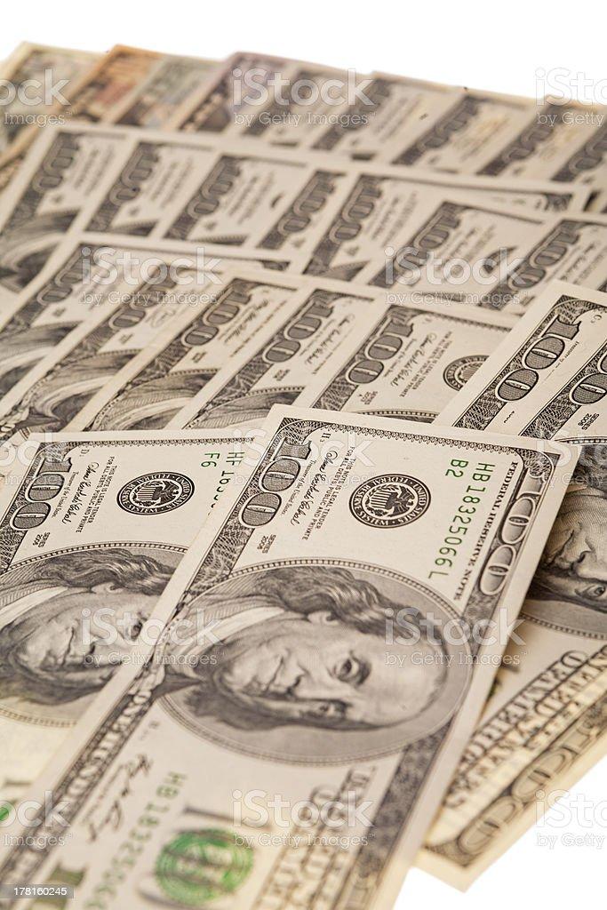 plenty of money royalty-free stock photo