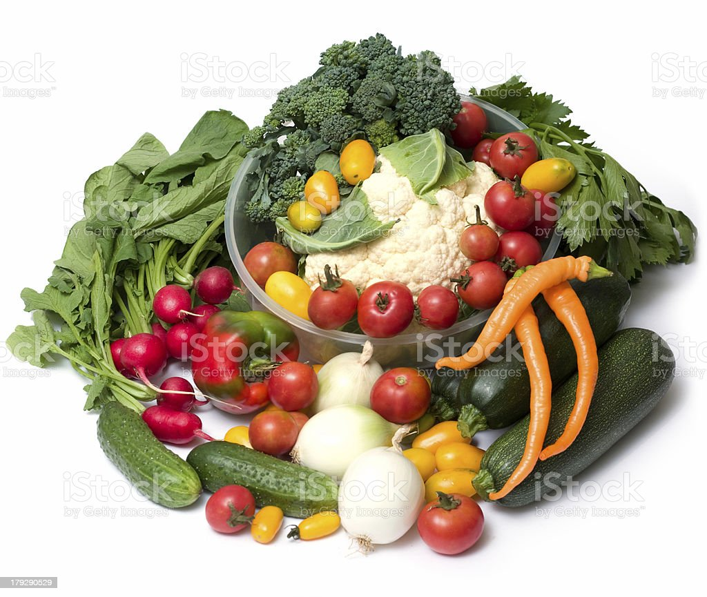 plenty of vegetables royalty-free stock photo