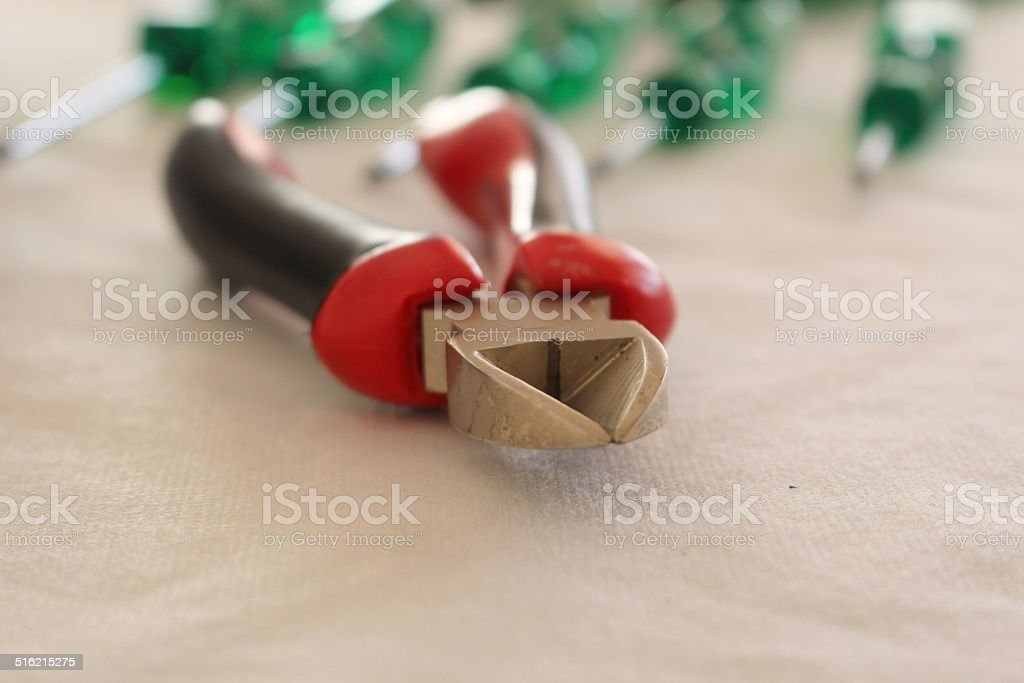 Plier stock photo