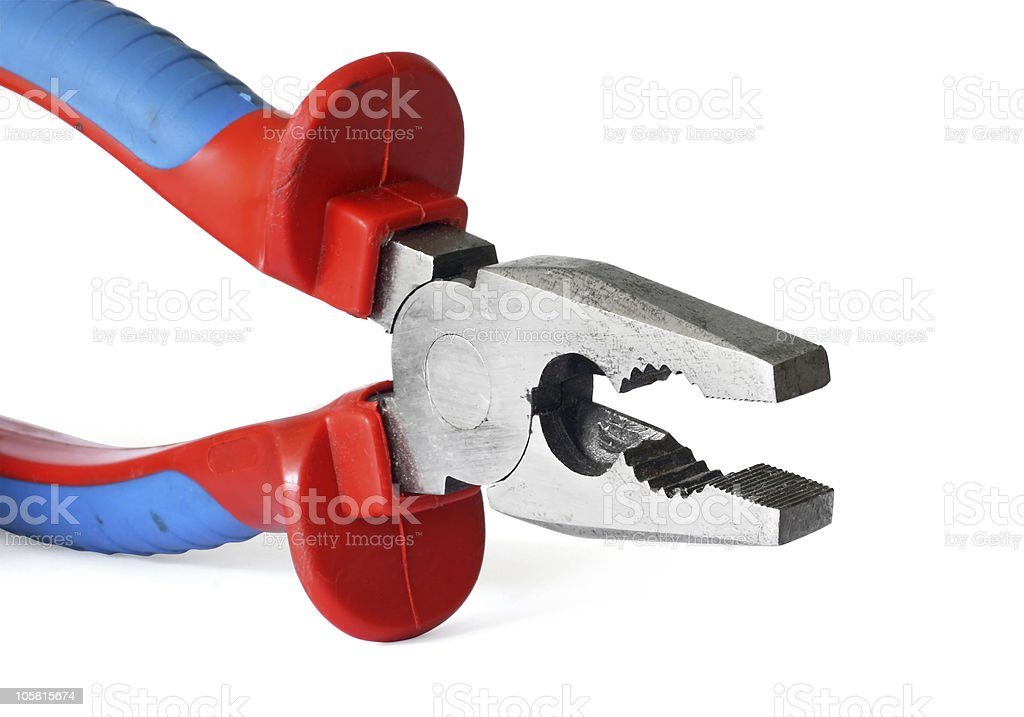 Pliers royalty-free stock photo
