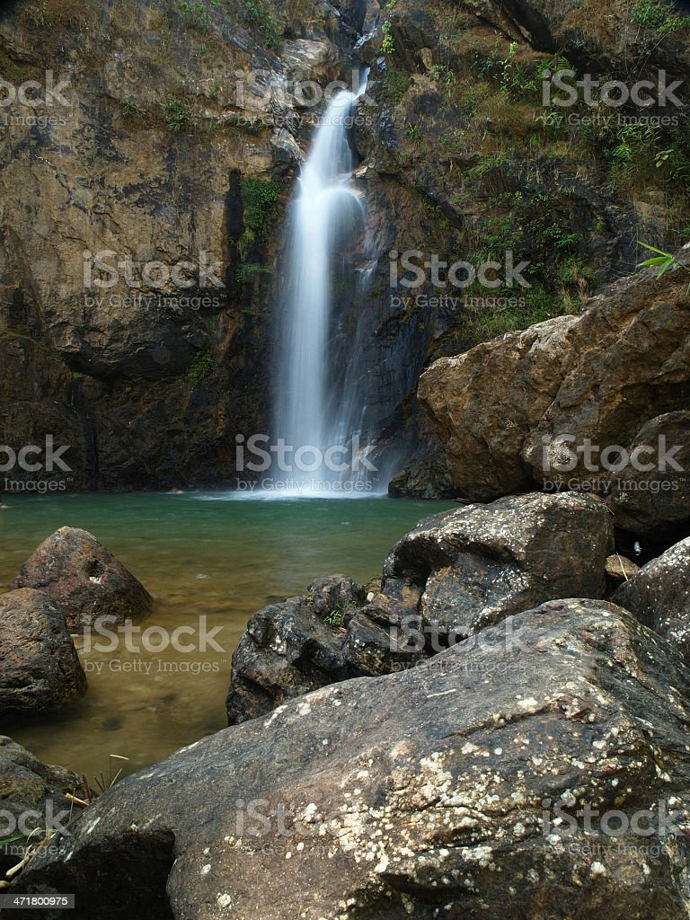 Pliew Waterfall National Park in Thailand. royalty-free stock photo